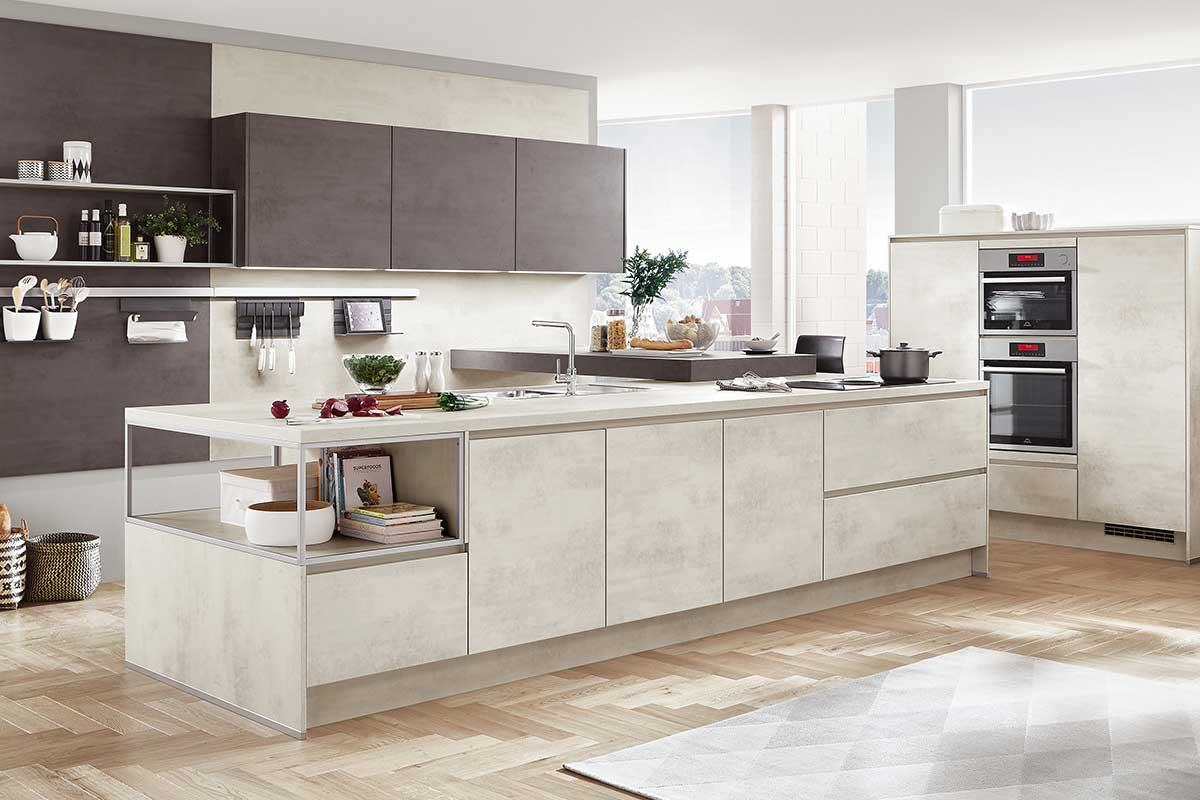 Moderne Kuche Kuche Kaufen Bodenheim Kuchenstudio Elektrogerate